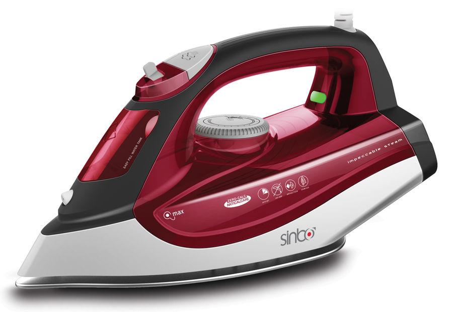 Утюг SINBO SSI 6611,  2200Вт,  красный/ белый