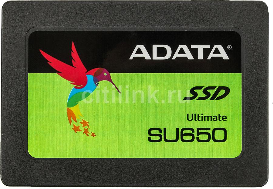"SSD накопитель A-DATA Ultimate SU650 ASU650SS-240GT-C 240Гб, 2.5"", SATA III"