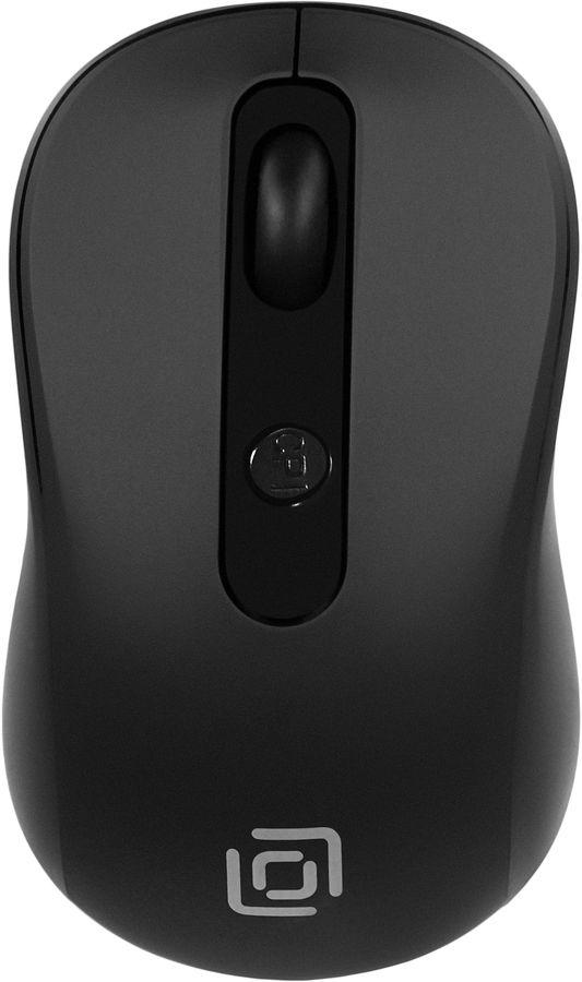 Мышь OKLICK 645MW оптическая беспроводная USB, черный