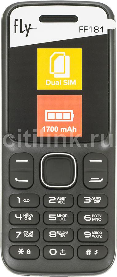 Мобильный телефон FLY FF181,  черный