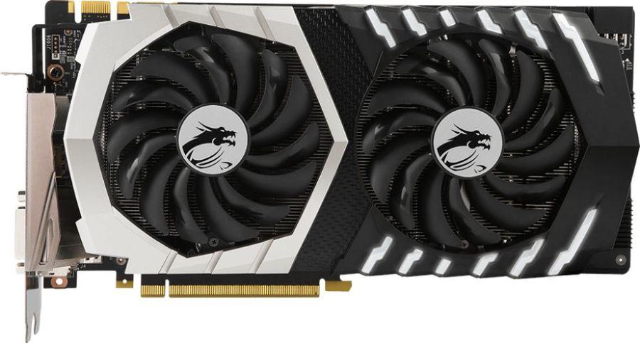 Видеокарта MSI nVidia  GeForce GTX 1070Ti ,  GeForce GTX 1070 Ti Titanium 8G,  8Гб, GDDR5, Ret