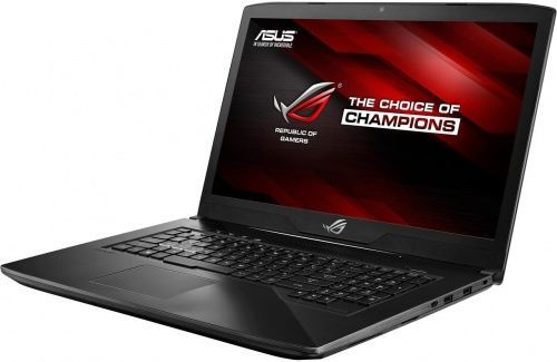 Ноутбук ASUS ROG GL703VD-GC146, 17.3, Intel Core i7 7700HQ 2.8ГГц, 12Гб, 1000Гб, 128Гб SSD, nVidia GeForce GTX 1050 - 4096 Мб, noOS, 90NB0GM2-M02990, черныйНоутбуки<br>экран: 17.3;  разрешение экрана: 1920х1080; процессор: Intel Core i7 7700HQ; частота: 2.8 ГГц (3.8 ГГц, в режиме Turbo); память: 12288 Мб, DDR4; HDD: 1000 Гб, 7200 об/мин; SSD: 128 Гб; nVidia GeForce GTX 1050 - 4096 Мб; WiFi;  Bluetooth; HDMI; WEB-камера; noOS<br><br>Линейка: ROG