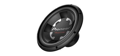 Сабвуфер автомобильный PIONEER TS-300D4,  пассивный,  1400Вт