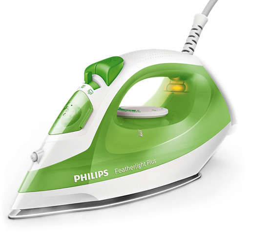 Утюг PHILIPS GC1426/70,  1400Вт,  зеленый/ белый