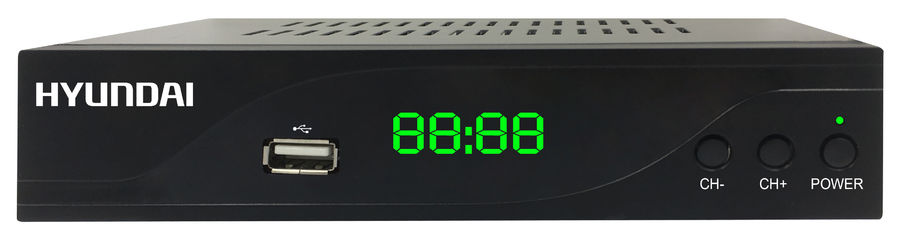 Ресивер DVB-C HYUNDAI H-DVB860,  черный