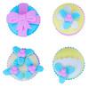 Набор ластиков Silwerhof Кексы 181127 Пластилиновая коллекция каучук синтетический пакет с европодве
