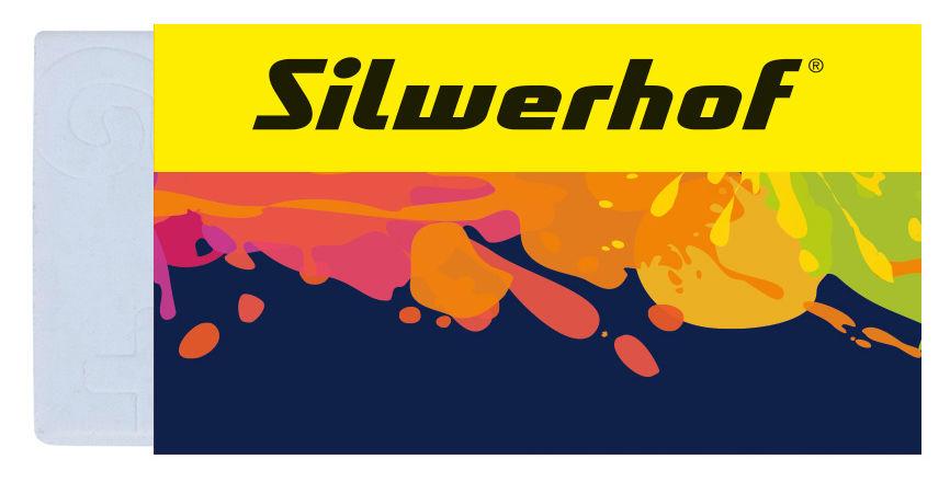 Набор ластиков Silwerhof dust-free 181122 Цветландия блистер (2шт)