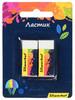 Набор ластиков Silwerhof dust-free 181122 Цветландия блистер (2шт) вид 2