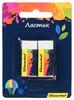 Набор ластиков Silwerhof dust-free 181122 Цветландия блистер (2шт) вид 6
