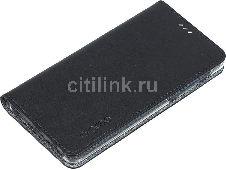 Чехол (флип-кейс) SAMSUNG Designed Mustang Diary, для Samsung Galaxy A8, черный [gp-a530kdcfaia]