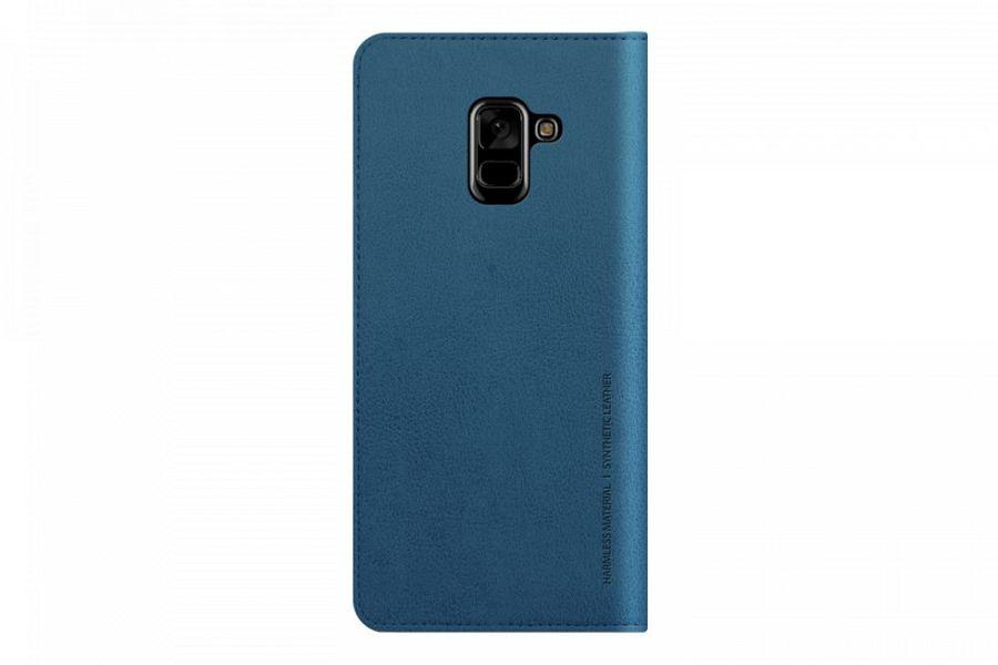 Чехол (флип-кейс) SAMSUNG Designed Mustang Diary, для Samsung Galaxy A8, синий [gp-a530kdcfaic]