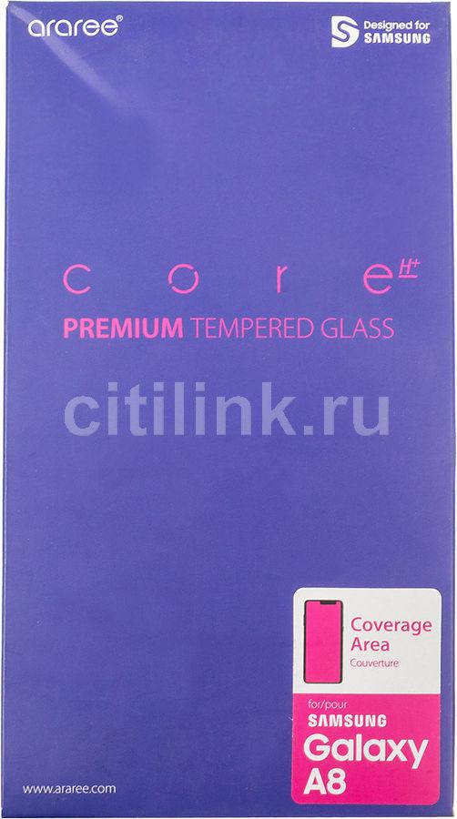 Защитное стекло для экрана SAMSUNG araree  для Samsung Galaxy A8,  прозрачная, 1 шт [gp-a530kdeebia]