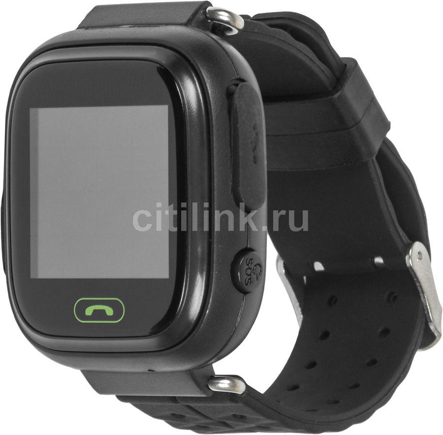 "Смарт-часы GINZZU GZ-505,  1.22"",  черный / черный [00-00001072]"