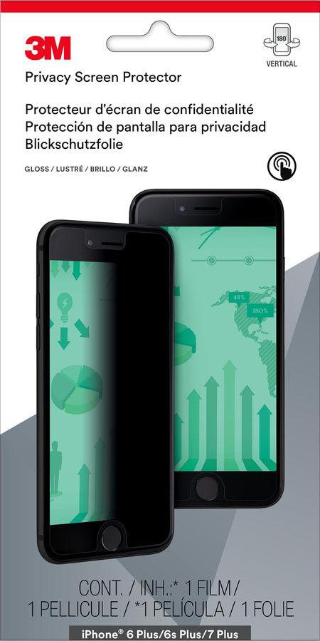 Пленка защиты информации для экрана 3M MPPAP010  для Apple iPhone 6 Plus/6S Plus/7 Plus,  1 шт [7100112606]