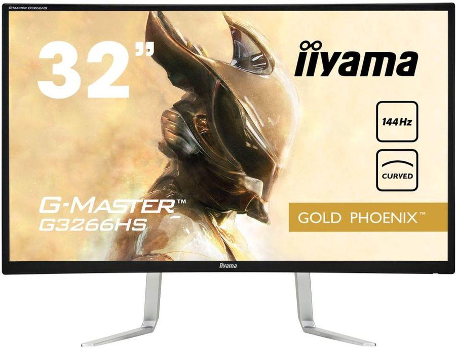 """Монитор Iiyama 31.5"""" ProLite G3266HS-B1 VA 1920x1080 144Hz FreeSync 300cd/m2 16:9"""