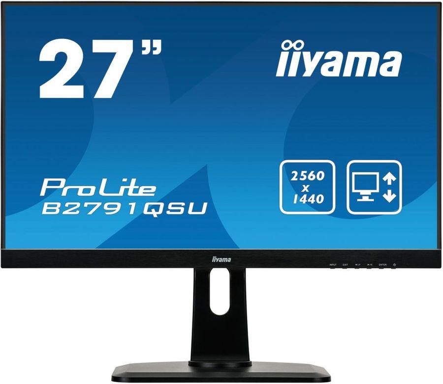 """Монитор IIYAMA ProLite B2791QSU-B1 27"""", черный"""
