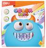 Фломастеры Deli EC10420 Color Kids смываемые 24цв. коробка картонная вид 1