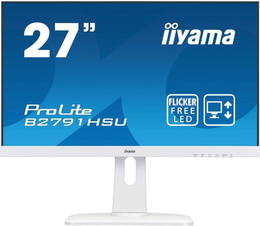 "Монитор IIYAMA ProLite B2791HSU-W1 27"", белый"