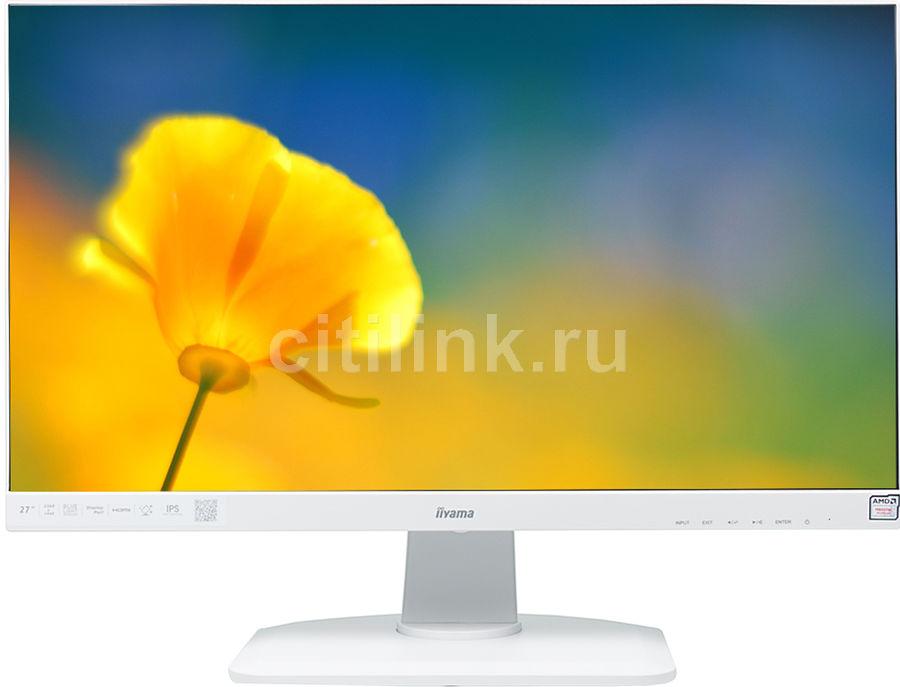 """Монитор IIYAMA XUB2792QSU-W1 27"""", белый"""