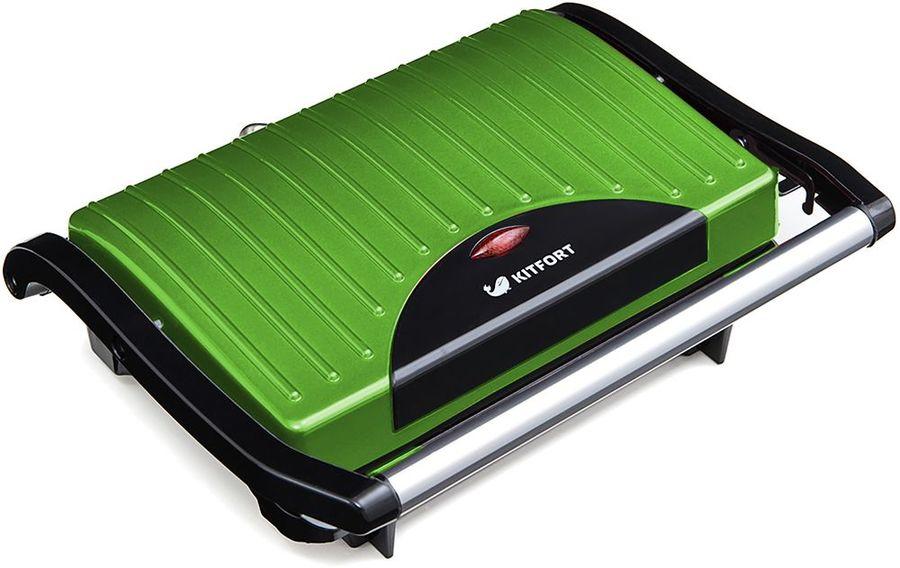 Сэндвичница KITFORT KT-1609-3 Panini Maker,  зеленый