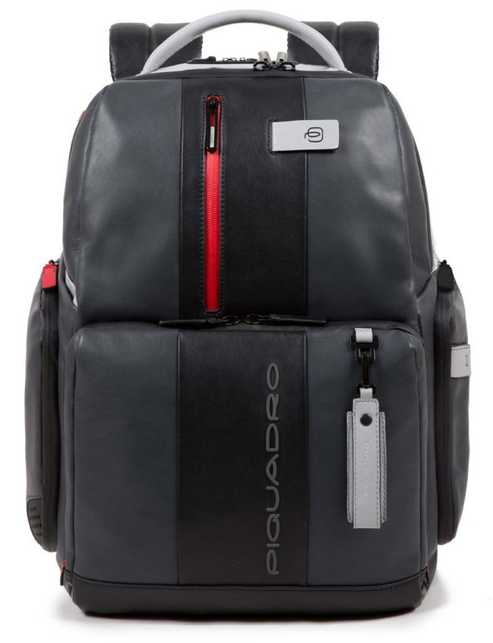 Рюкзак Piquadro Brief CA4550BRBM/GRN серый/черный