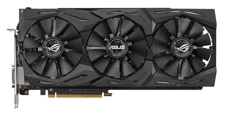 Видеокарта ASUS AMD  Radeon RX Vega 56 ,  ROG-STRIX-RXVEGA56-O8G-GAMING,  8Гб, HBM2, OC,  Ret