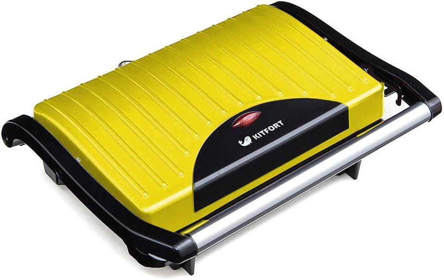 Сэндвичница KITFORT KT-1609-2 Panini Maker,  желтый