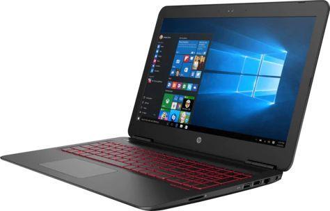 Ноутбук HP Omen 15-ax233ur, 15.6, Intel Core i7 7700HQ 2.8ГГц, 8Гб, 1000Гб, nVidia GeForce GTX 1050 - 2048 Мб, Free DOS, 2ER12EA, черный