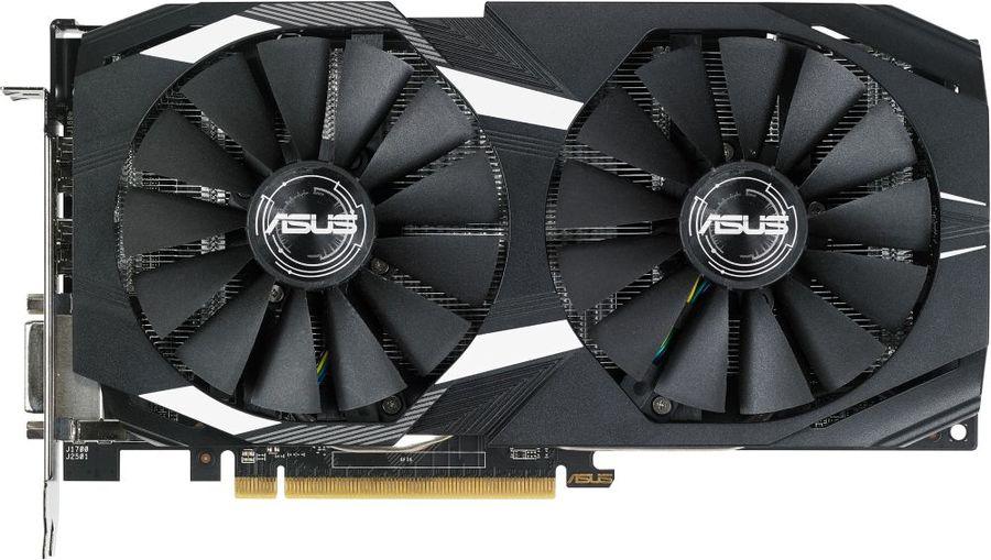 Видеокарта ASUS AMD  Radeon RX 580 ,  DUAL-RX580-4G,  4Гб, GDDR5, Ret