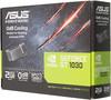 Видеокарта ASUS nVidia  GeForce GT 1030 ,  GT1030-SL-2G-BRK,  2Гб, GDDR5, Low Profile,  Ret вид 7