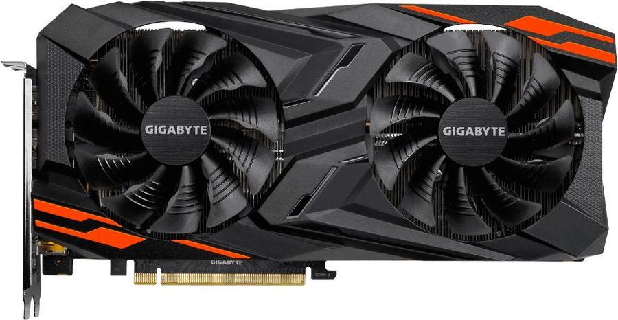 Видеокарта GIGABYTE AMD  Radeon RX Vega 56 ,  GV-RXVEGA56GAMING OC-8GD,  8Гб, HBM2, OC,  Ret