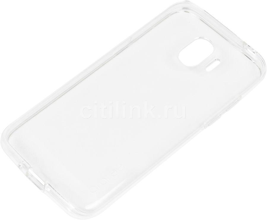 Чехол (клип-кейс) SAMSUNG araree, для Samsung Galaxy J2 (2018), прозрачный [gp-j250kdcpaia]