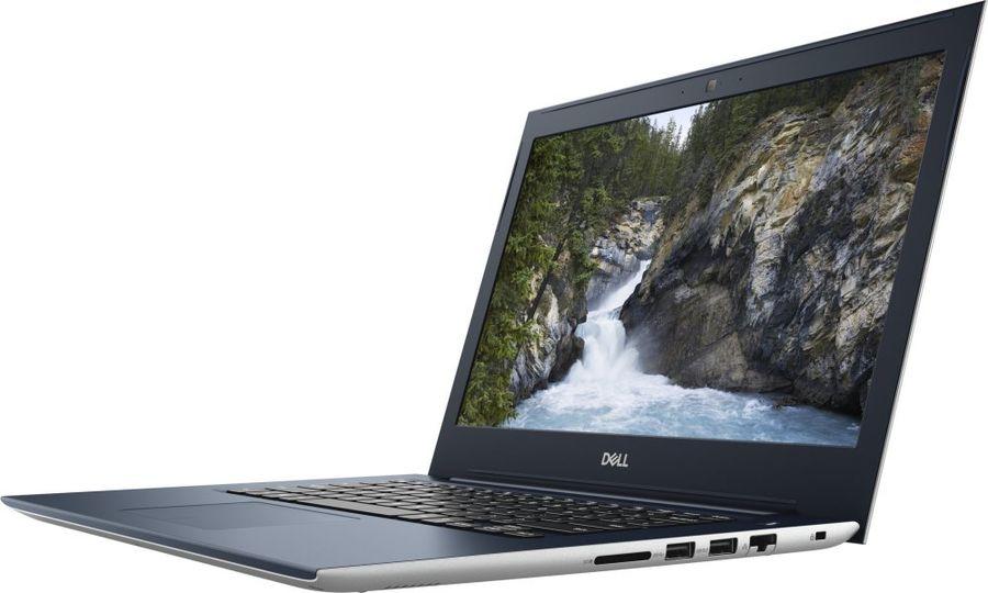 "Ноутбук DELL Vostro 5471, 14"",  Intel  Core i5  8250U 1.6ГГц, 4Гб, 1000Гб,  Intel UHD Graphics  620, Linux, 5471-4624,  серебристый"