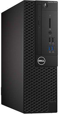 Компьютер  DELL Optiplex 3050,  Intel  Core i3  6100,  DDR4 4Гб, 500Гб,  Intel HD Graphics 530,  DVD-RW,  Windows 10 Professional,  черный [3050-6331]