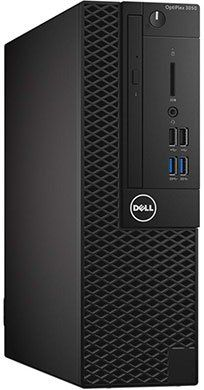 Компьютер  DELL Optiplex 3050,  Intel  Core i5  6500,  DDR4 4Гб, 500Гб,  Intel HD Graphics 530,  DVD-RW,  Windows 10 Professional,  черный [3050-6348]