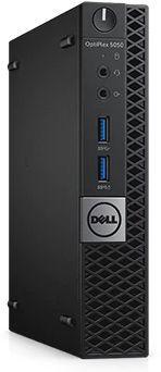 Компьютер  DELL Optiplex 5050,  Intel  Core i5  7500T,  DDR4 8Гб, 500Гб,  Intel HD Graphics 630,  Windows 10 Professional,  черный [5050-8312]