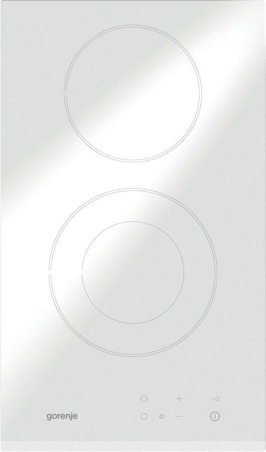 Варочная панель GORENJE ECT330CSCW,  Hi-Light,  независимая,  белый