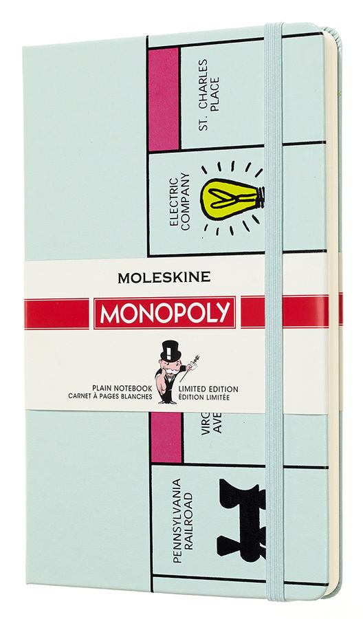 Блокнот Moleskine Limited Edition MONOPOLY Large 130х210мм 240стр. нелинованный Board