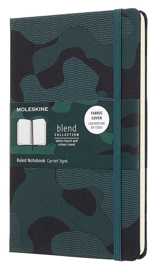 Блокнот Moleskine Limited Edition BLEND LGH Large 130х210мм обложка текстиль 240стр. линейка Camoufl [lcbd03qp060camok] new mf8 eitan s star icosaix radiolarian puzzle magic cube black and primary limited edition very challenging welcome to buy