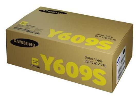 Картридж SAMSUNG CLT-Y609S, желтый [su563a]