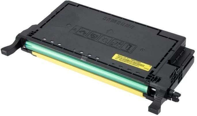 Картридж SAMSUNG CLT-Y508L, желтый [su535a]