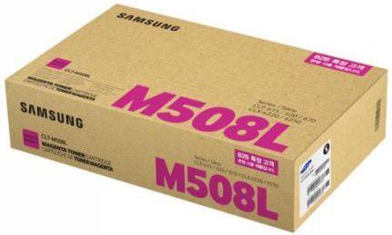 Картридж SAMSUNG CLT-M508L, пурпурный [su325a]
