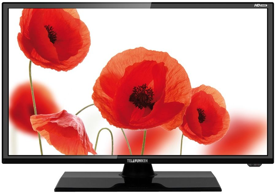 """LED телевизор TELEFUNKEN TF-LED19S12T2  """"R"""", 18.5"""", HD READY (720p),  черный"""