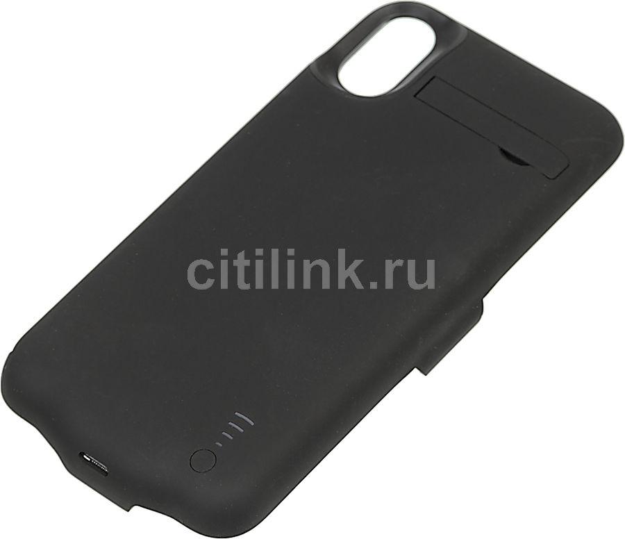 Внешний мод батарея DF iBattery-22 для Apple iPhone X 5000mAh Lightning черный (DF IBATTERY-22 (BLAC