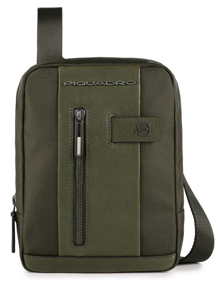 Сумка Piquadro Brief CA3084BR/VE зеленый натур.кожа/ткань