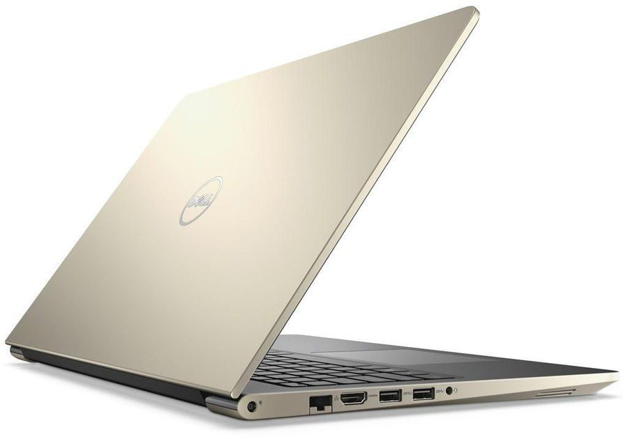 Ноутбук DELL Vostro 5568, 15.6, Intel Core i5 7200U 2.5ГГц, 8Гб, 1000Гб, nVidia GeForce 940MX - 4096 Мб, Windows 10 Home, 5568-9881, золотистый ноутбук dell vostro 5468 core i5 7200u 4gb 1tb nv 940mx 2gb 14 0 win10 grey