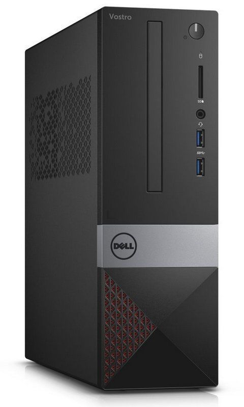 Компьютер DELL Vostro 3267, Intel Pentium G4400, DDR4 4Гб, 1000Гб, Intel HD Graphics 510, DVD-RW, CR, Linux, черный [3267-0245] ноутбук dell vostro 3558 15 6 1366x768 intel pentium 3825u 500 gb 4gb intel hd graphics черный linux 3558 4483