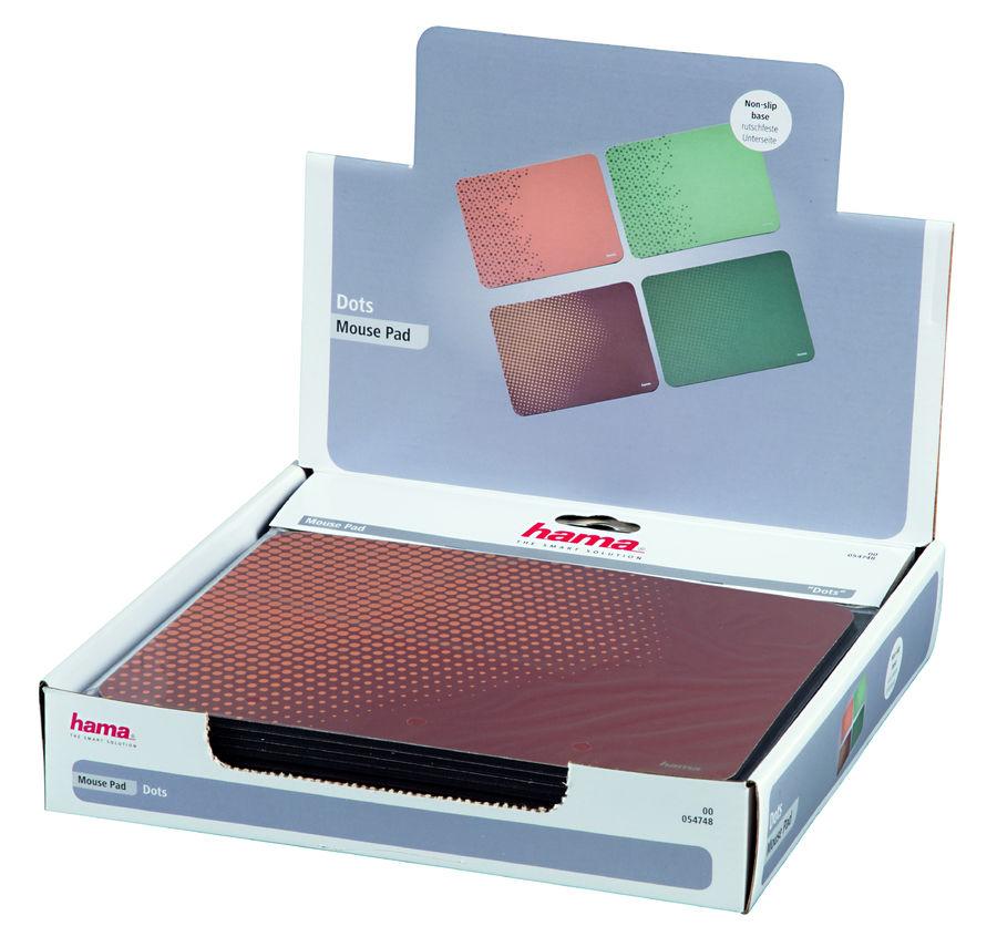 Коврик для мыши HAMA 00054748,  4 варианта расцветки/рисунок