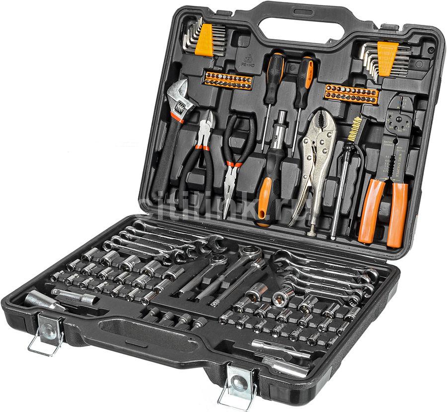 Набор инструментов BORT BTK-123,  123 предмета [91272867]