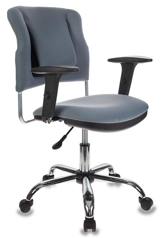 Кресло БЮРОКРАТ CH-323AXSN, на колесиках, ткань [ch-323axsn/g]